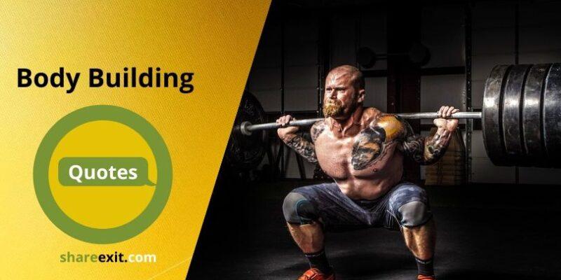 Body Building Quotes