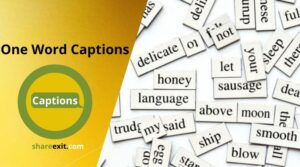 One Word Captions