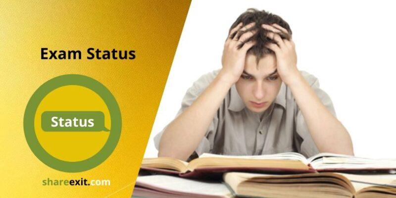 exam Status